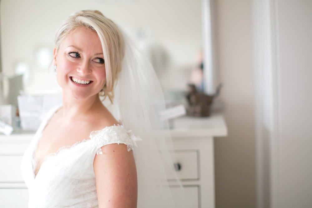 bride and groom bridal hair ...