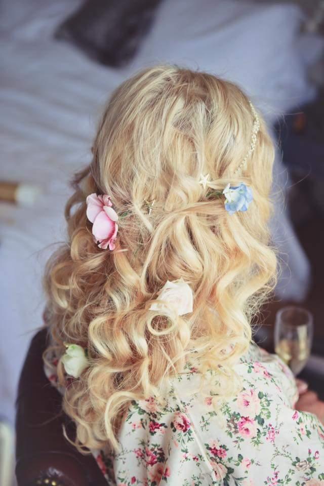 Half Up Wedding Hairstyles Plaits Amp Braids Wedding Make
