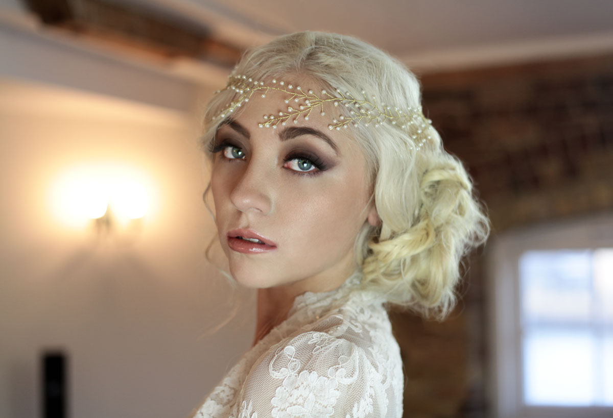 wedding hairstyles for long thick heavy hair - wedding make up and