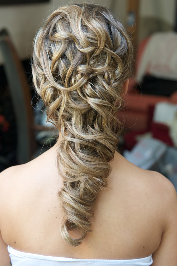 Wedding Hair Styles For Long Hair Wedding Make Up And