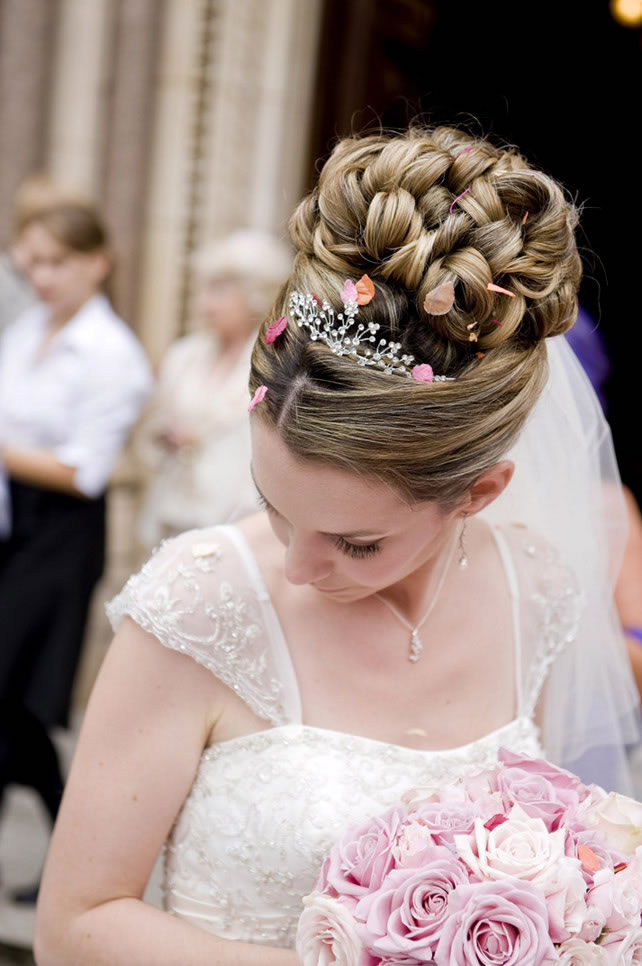 Naturally Curly Hair Wedding Hair Styles Wedding Make