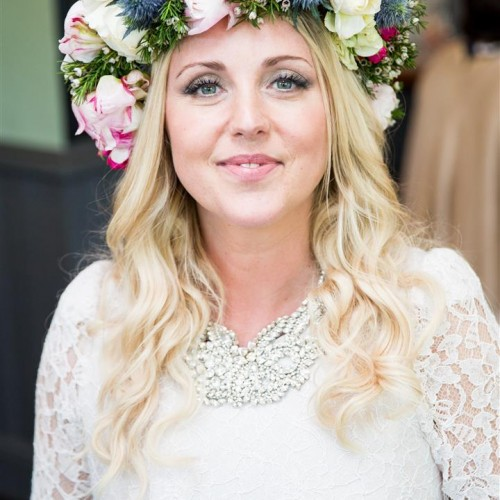 Boho_bride_hair_makeup_flowers