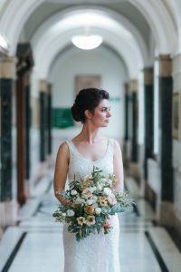 beautiful wedding makeup by Pam Wrigley bridal hairstyle london bridesmaids hair style