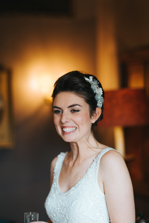 wedding makeup beautiful wedding natural makeup by Pam Wrigley bridal hairstyle hair style bun london