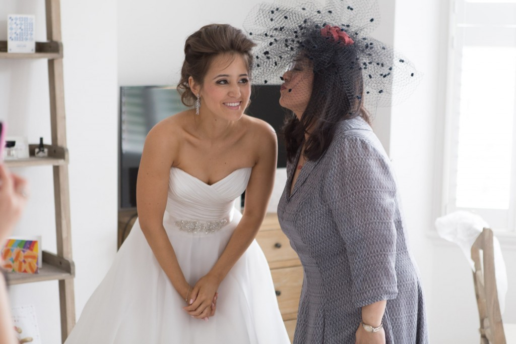 Bridal makeup and hair for a bride and mother of the bride. Plus bridal hairstyles for brides with long hair by wedding makeup artist and bridal hair stylist Pam Wrigley in London