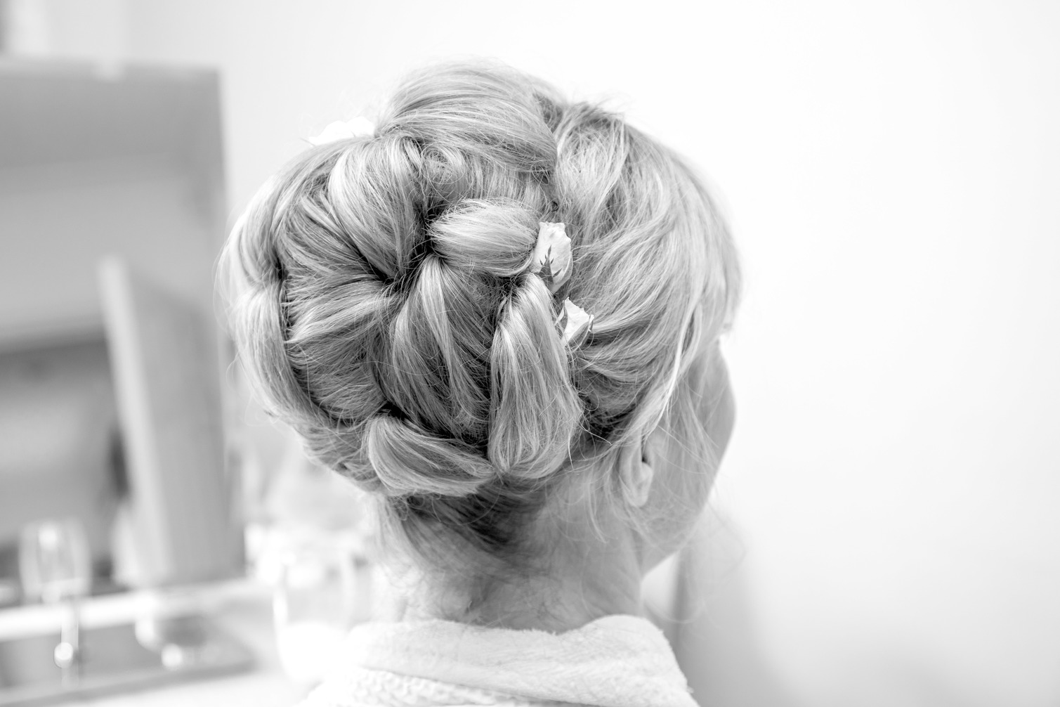Buns – low, high, to the side – but all gorgeous! - Wedding Make Up ...