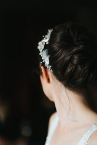 wedding by Pam wrigley bridal hairstyle london bridesmaids hair style