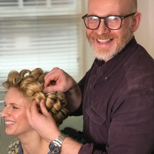 wedding and bridal hair by Gavin Harvie London and Sussex