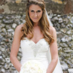 wedding makeup and bride hair style by bridal hairstylist Pam Wrigley Surrey London