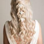 braids wedding hairstyles bridal hairstyle hair up beachy waves braids wedding summer wedding pam wrigley