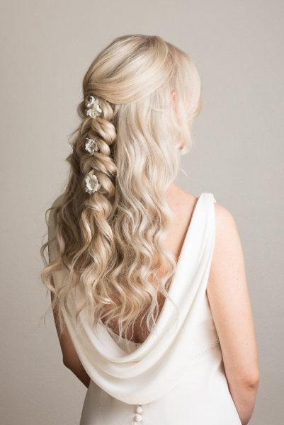 braids wedding hairstyles bridal hairstyle hair up beachy waves braids wedding pam wrigley