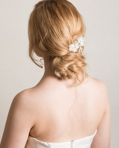 bridal.soft.relaxed.bun.long.hair