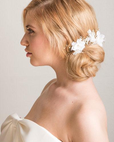 low.bun.bridal.hairstyle