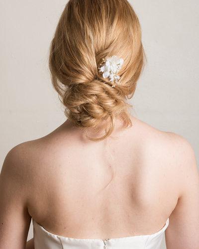 low.bun.updo.bridal.hair.style