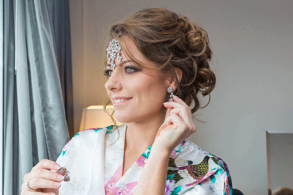 bridal hair and hairstylist wedding makeup artist london