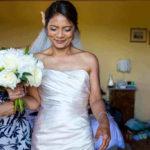 mature wedding bridal hairstyle makeup italy pam wrigley tuscany destination wedding bun hiastyle