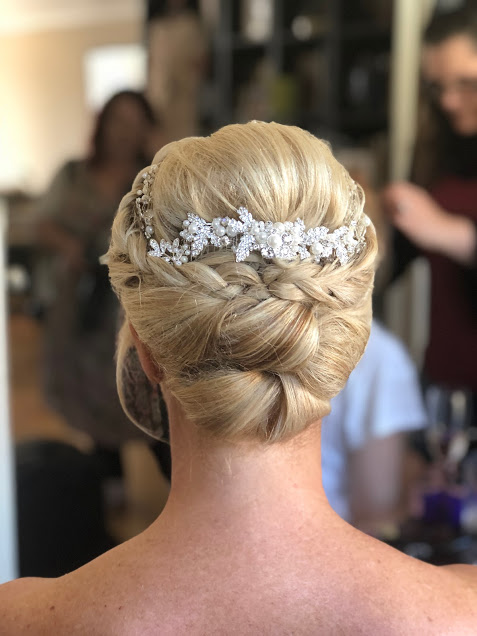 Wedding hair styles for short hair - Wedding Make Up and Hair Stylist London