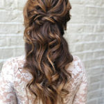 bridal hair london hairstyle braids half up hair style wedding