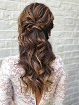 bridal hair london hairstyle braids half up hair style wedding