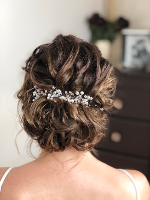 Wedding Hair Styles For Short Hair Wedding Make Up And