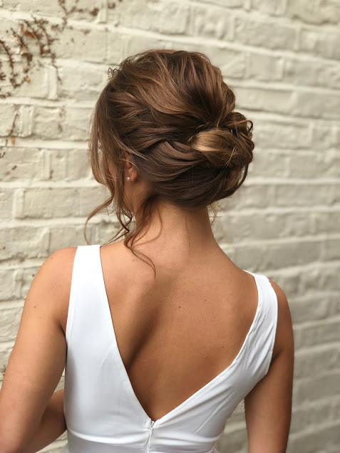 Image Result For Wedding Hairstyles Relaxed Hair