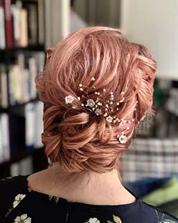 short.bridal.hair style pam wrigley