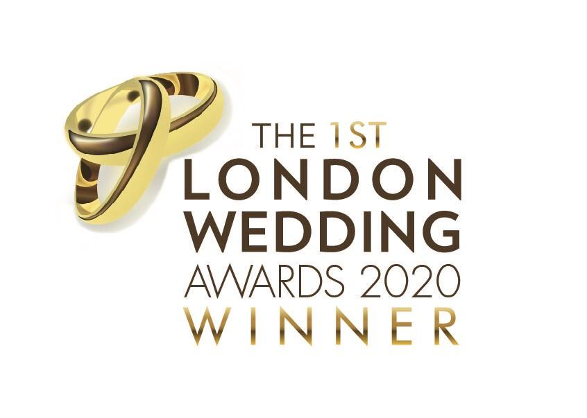 London wedding awards 2020 winner