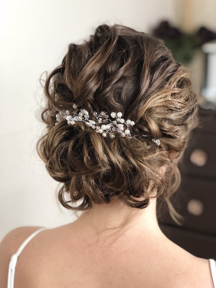 Wedding hairstyles for short hair   Wedding Make Up and Hair ...