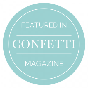 Features in confetti magazine