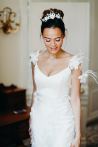 natural dewy wedding makeup and bridal hairstyle hair up by Pam Wrigley London Surrey Hampshire Berkshire