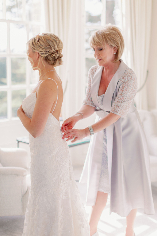 bridal hair styles and wedding hairstyle and mother of the bride hair and makeup by Pam Wrigley at Hedsor House