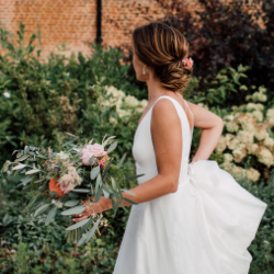 wedding makeup and bridal hair by Pam Wrigley London
