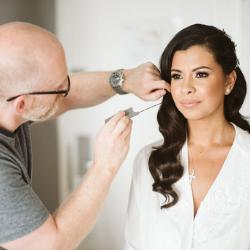 wedding hairstylist and bridal hair style y Gavin Harvie Sussex London