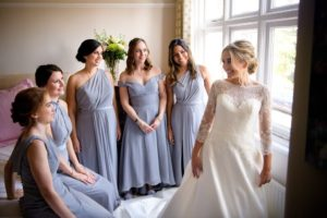 wedding makeup and bridal hairstyliing by Akua Amankona London bride and bridesmaid braids and braided style