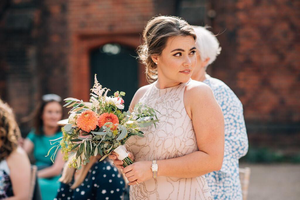 wedding makeup and bridal hairstyliing by Akua Amankona London bride and bridesmaid