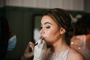 wedding makeup and bridal hairstyliing by Akua Amankona London