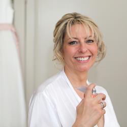 wedding makeup and bridal hair by Pam Wrigley London mature bride